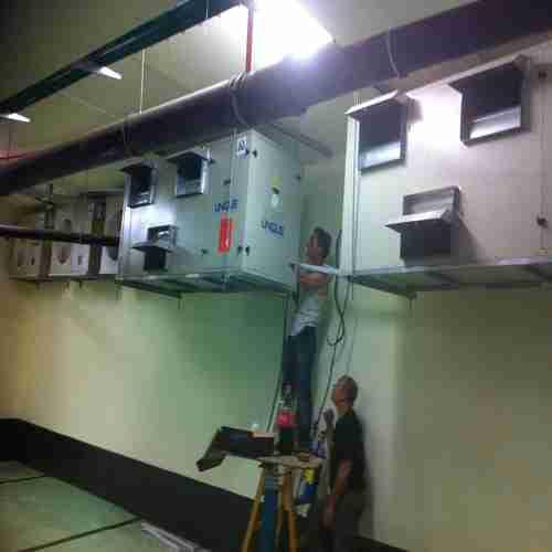 מערכות מיזוג אוויר בסניף